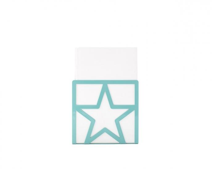 Фото - Держатель для книг Звезда голубая купить в киеве на подарок, цена, отзывы