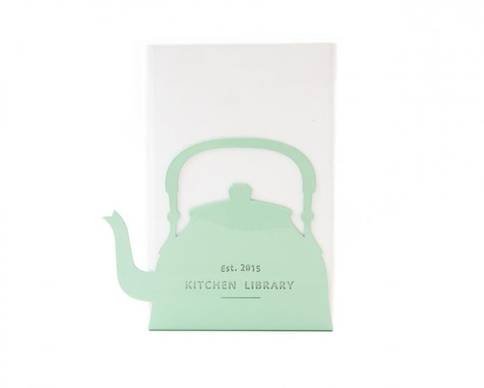 Фото - Держатель для книг Чайник мятный купить в киеве на подарок, цена, отзывы