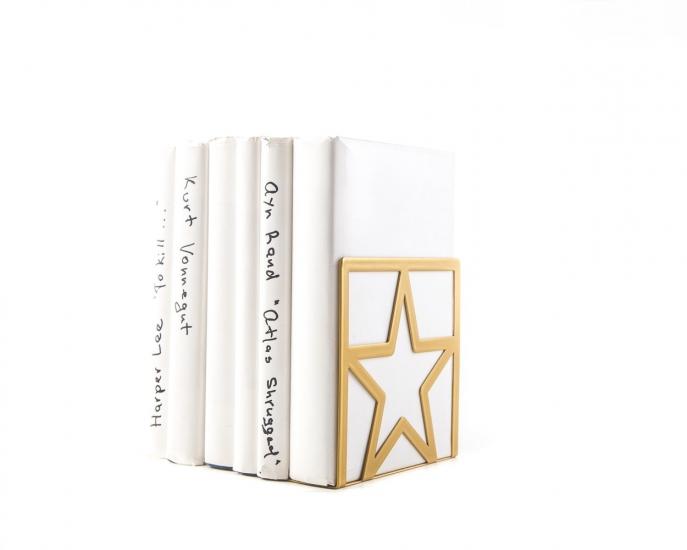 Фото - Держатель для книг Звезда золото купить в киеве на подарок, цена, отзывы
