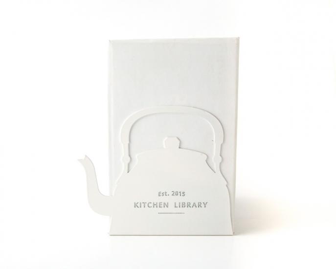 Фото - Держатель для книг Чайник белый купить в киеве на подарок, цена, отзывы