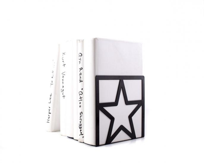 Фото - Держатель для книг Звезда черная купить в киеве на подарок, цена, отзывы