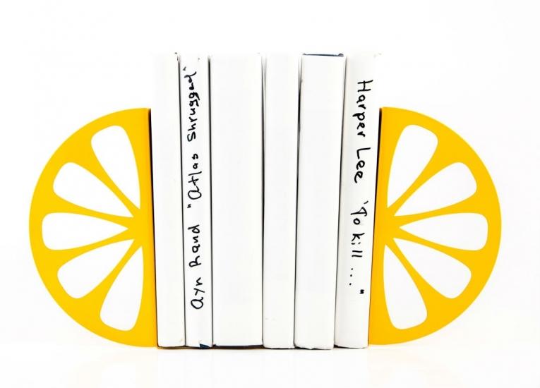 Фото - Держатель для книг Лимон купить в киеве на подарок, цена, отзывы