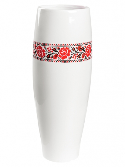 Фото - Глянцевая ваза с цветами купить в киеве на подарок, цена, отзывы