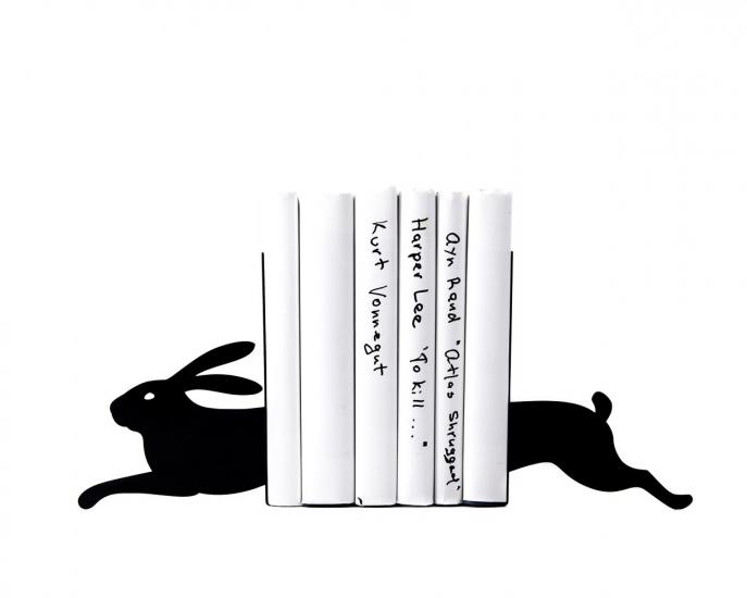 Фото - Держатель для книг Бегущий заяц купить в киеве на подарок, цена, отзывы