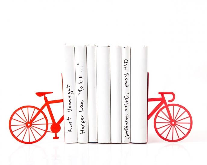 Фото - Держатель для книг My red bike купить в киеве на подарок, цена, отзывы