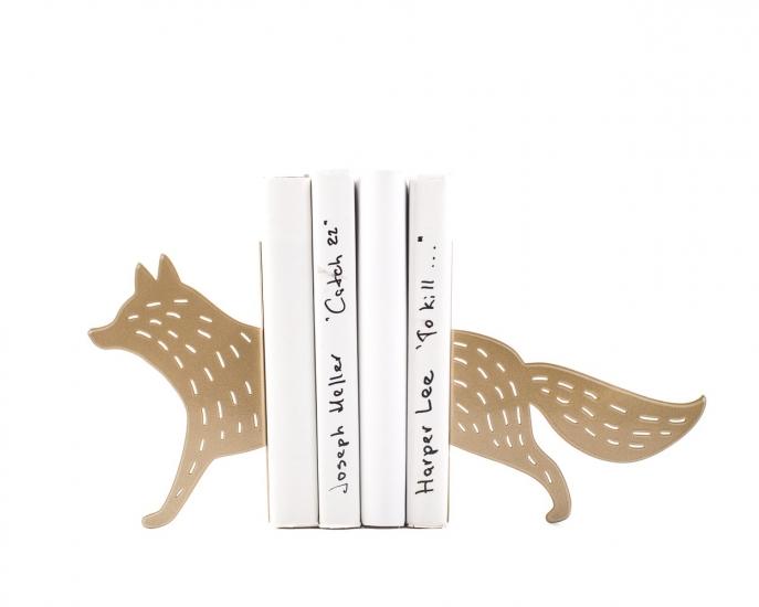 Фото - Держатель для книг Золотая Лиса купить в киеве на подарок, цена, отзывы
