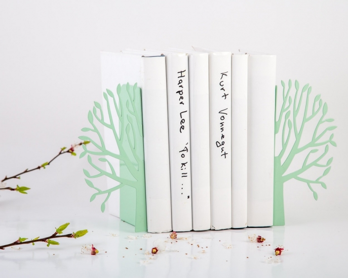 Фото - Держатель для книг Spring мята купить в киеве на подарок, цена, отзывы