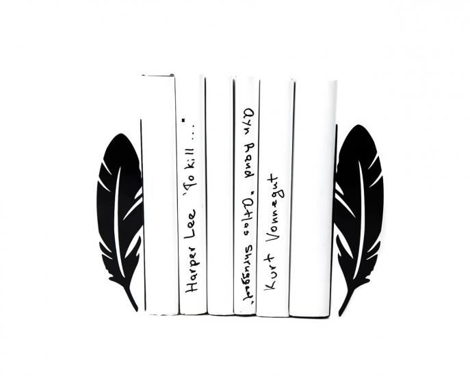 Фото - Держатель для книг Перья купить в киеве на подарок, цена, отзывы