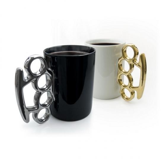 Фото - Чашка с кастетом купить в киеве на подарок, цена, отзывы