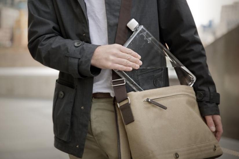 Фото - Бутылка Memo Notebook Bottle А5 купить в киеве на подарок, цена, отзывы