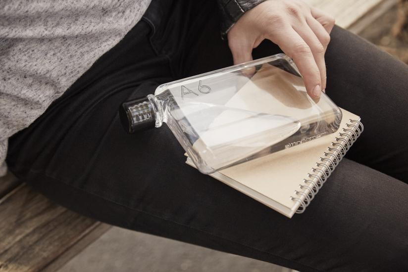 Фото - Бутылка Memo Notebook Bottle А6 купить в киеве на подарок, цена, отзывы
