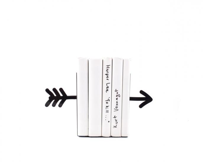 Фото - Держатель для книг Стрела черная купить в киеве на подарок, цена, отзывы