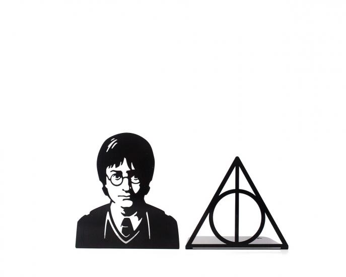 Фото - Держатель для книг Гарри Поттер и дары смерти купить в киеве на подарок, цена, отзывы