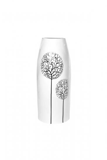 Фото - Декоративная ваза Деревья белая 27 см купить в киеве на подарок, цена, отзывы