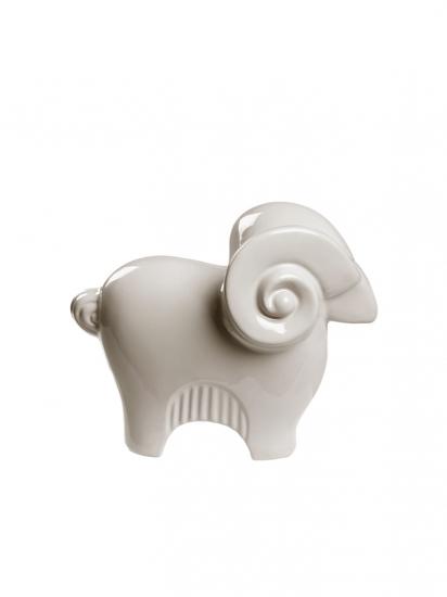 Фото - Статуэтка глянцевая Ягненок мини купить в киеве на подарок, цена, отзывы