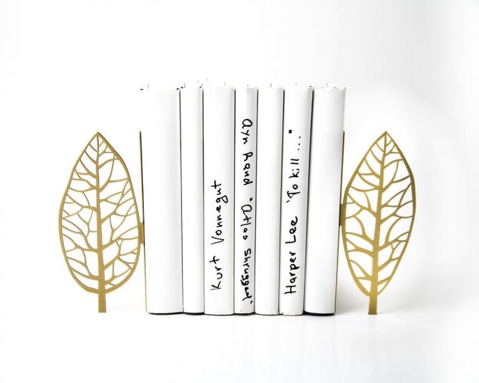 Фото - Держатель для книг Деревья Магритта золото купить в киеве на подарок, цена, отзывы