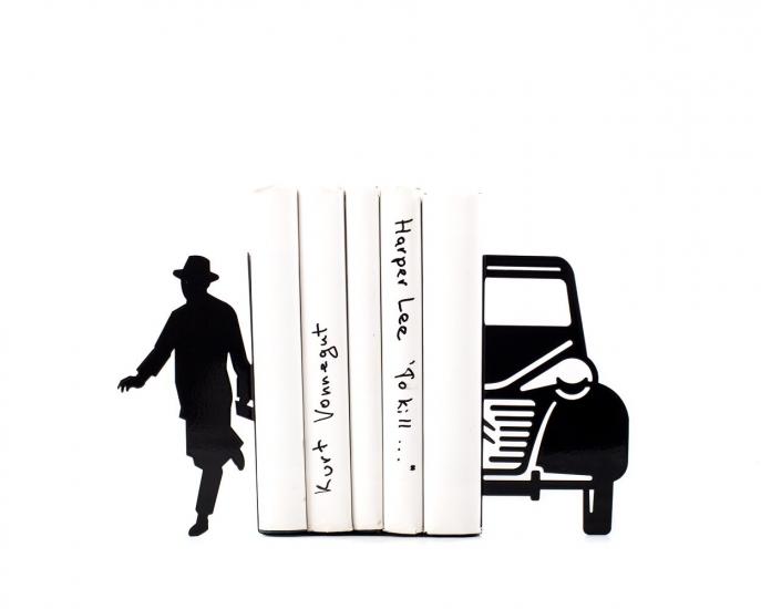 Фото - Держатель для книг Писатель и автомобиль купить в киеве на подарок, цена, отзывы