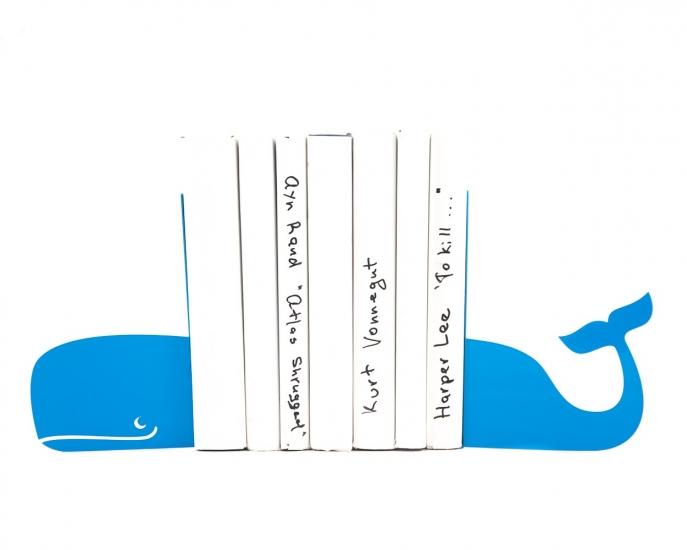 Фото - Держатель для книг Кит синий купить в киеве на подарок, цена, отзывы