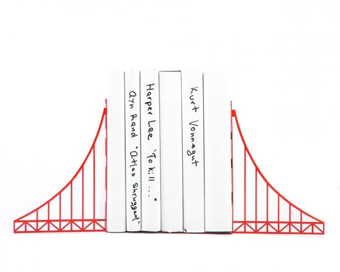 Фото - Держатель для книг Мост Золотые ворота купить в киеве на подарок, цена, отзывы