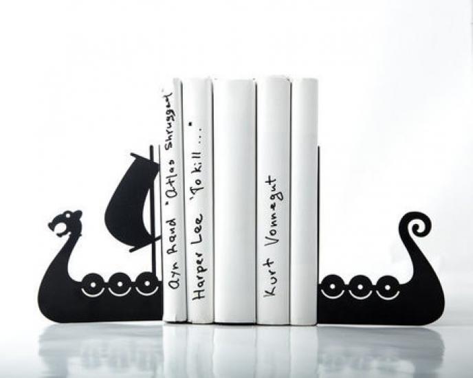 Фото - Держатель для книг Драккар купить в киеве на подарок, цена, отзывы