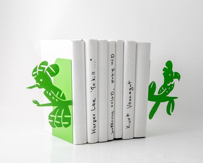 Фото - Держатель для книг Попугаи купить в киеве на подарок, цена, отзывы