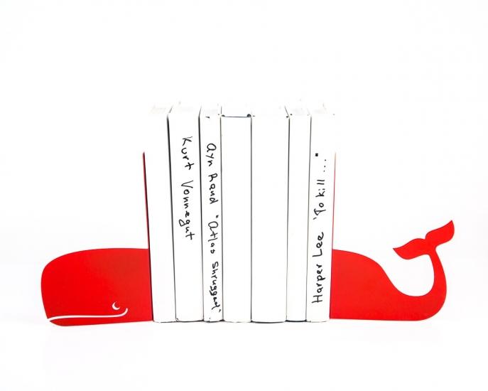 Фото - Держатель для книг кит красный купить в киеве на подарок, цена, отзывы