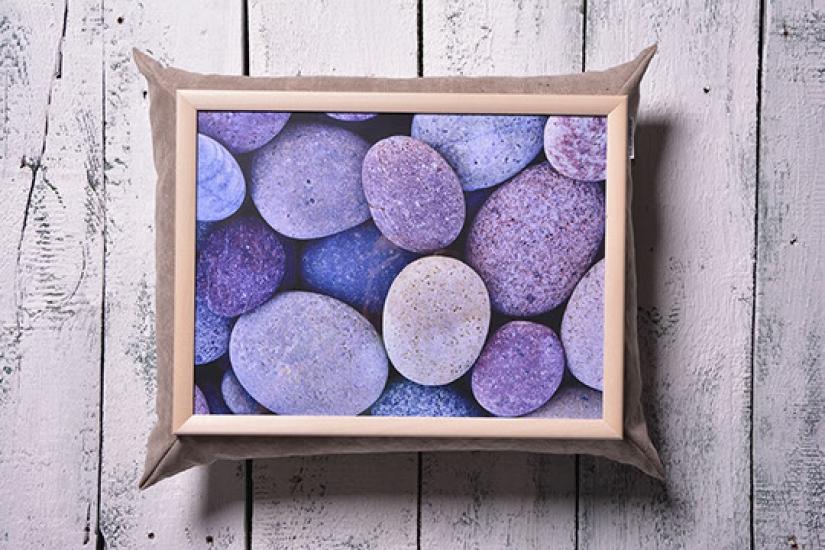 Фото - Поднос с подушкой Космические камни купить в киеве на подарок, цена, отзывы