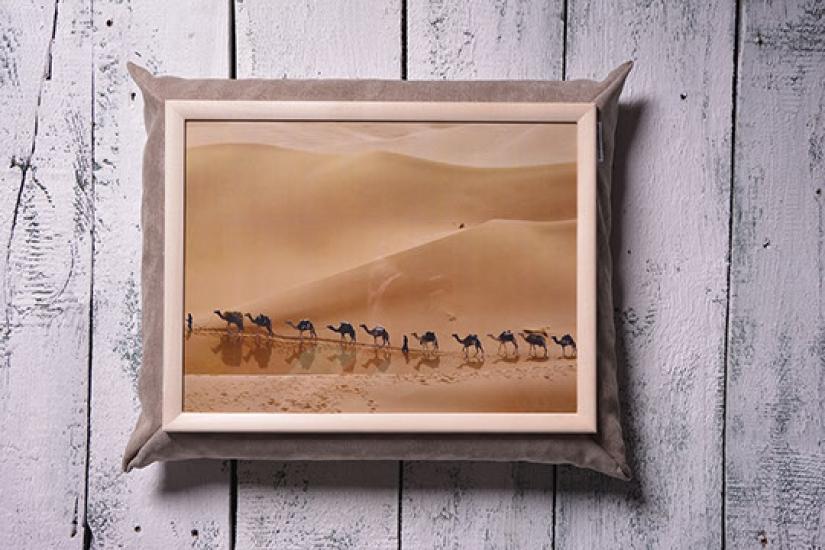 Фото - Поднос на подушке Сахара купить в киеве на подарок, цена, отзывы
