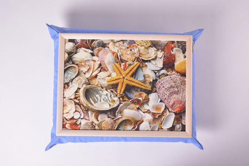 Фото - Поднос на подушке Море купить в киеве на подарок, цена, отзывы