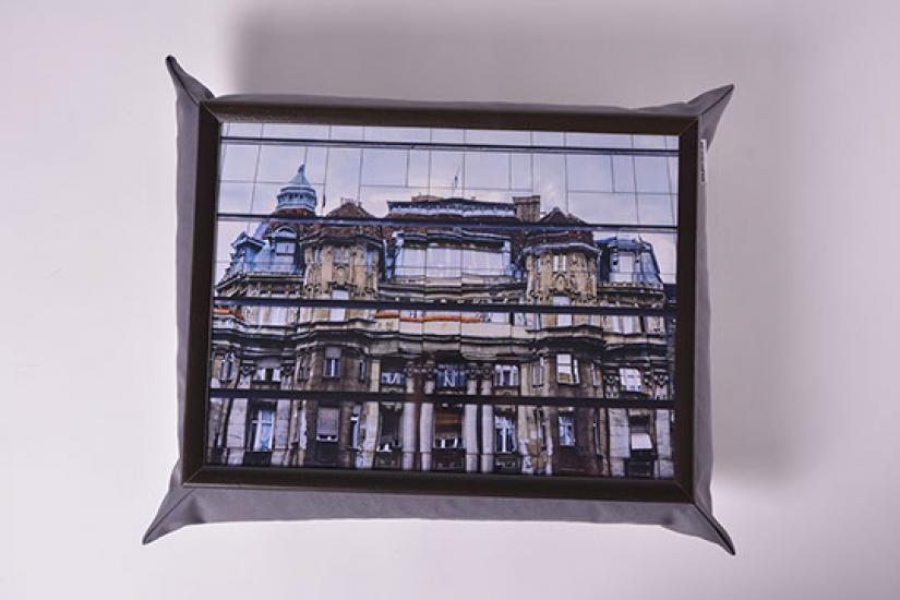 Фото - Поднос на подушке Берлин купить в киеве на подарок, цена, отзывы
