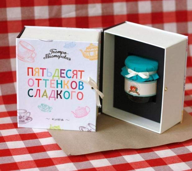 Фото - Подарочная книга 50 оттенков сладкого купить в киеве на подарок, цена, отзывы