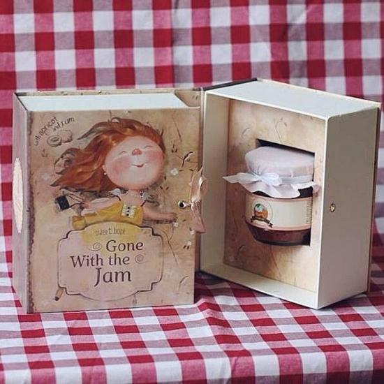 Фото - Подарочная книга с дизайном Гапчинской Унесенные джемом купить в киеве на подарок, цена, отзывы