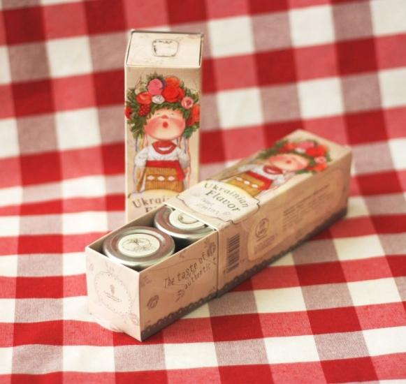Фото - Набор Украинский подарок от Гапчинской купить в киеве на подарок, цена, отзывы