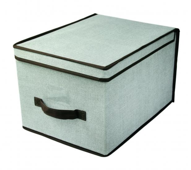 Фото - Короб складной с крышкой 40x30x25 см купить в киеве на подарок, цена, отзывы