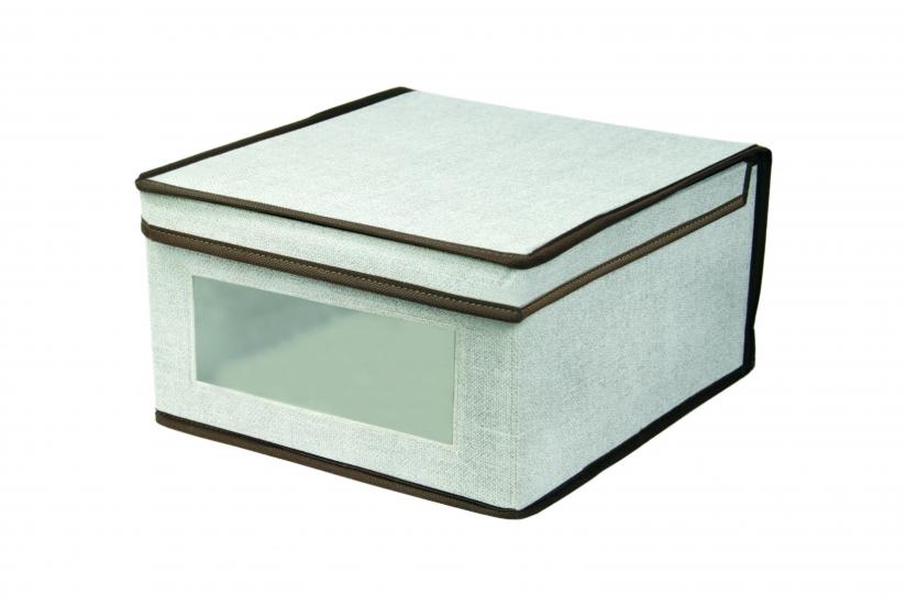 Фото - Короб складной с крышкой 30x28x15 см купить в киеве на подарок, цена, отзывы