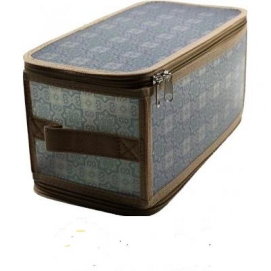 Фото - Короб складной на молнии 30х15х15 см серый купить в киеве на подарок, цена, отзывы