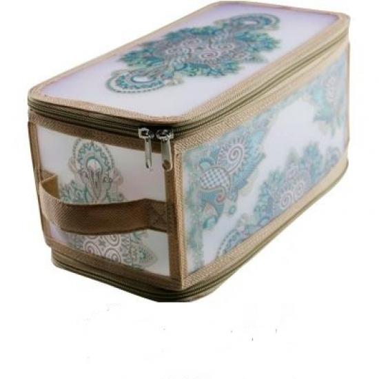 Фото - Короб складной на молнии кружево 30х15х15 см купить в киеве на подарок, цена, отзывы