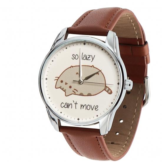 Фото - Наручные часы Кот лентяй купить в киеве на подарок, цена, отзывы