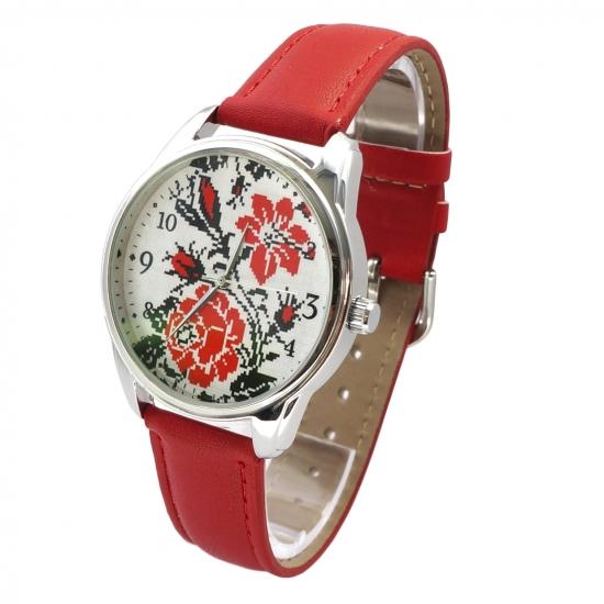 Фото - Наручные часы Вышиванка роза купить в киеве на подарок, цена, отзывы