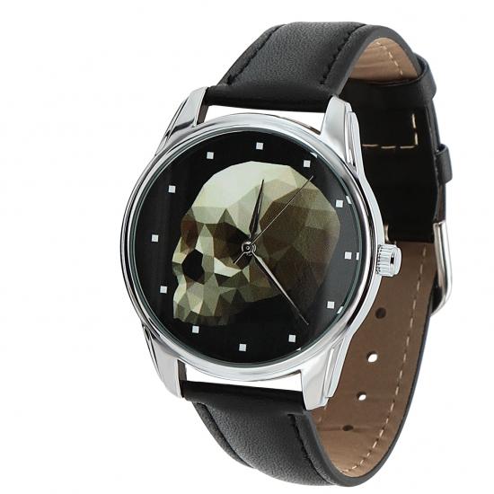 Фото - Наручные часы Череп кубизм купить в киеве на подарок, цена, отзывы