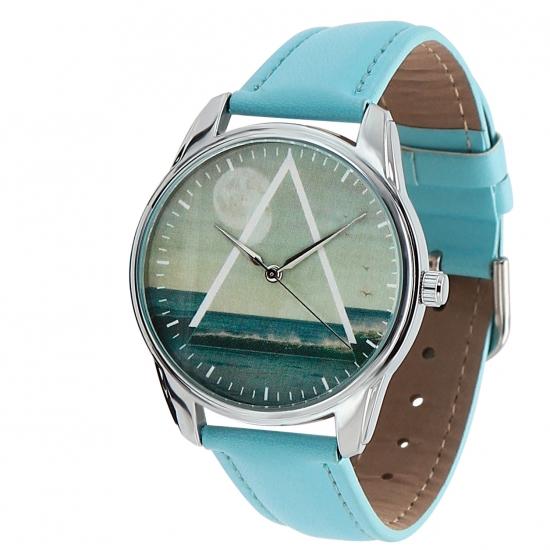 Фото - Наручные часы Море голубой купить в киеве на подарок, цена, отзывы
