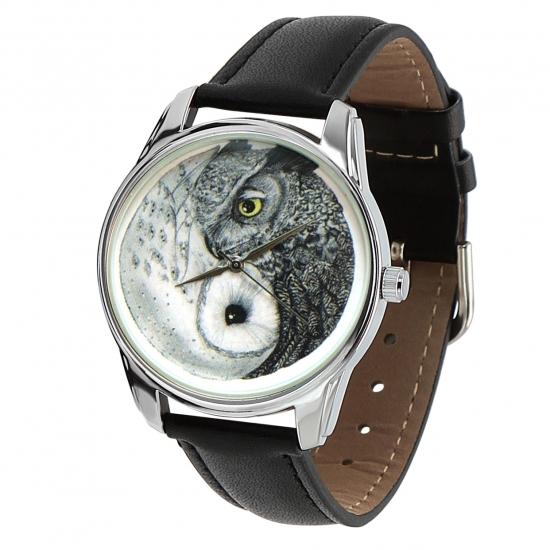 Фото - Наручные часы Совы Инь-Янь купить в киеве на подарок, цена, отзывы