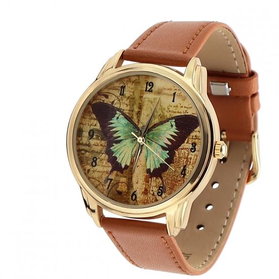 Фото - Наручные часы Винтажная бабочка купить в киеве на подарок, цена, отзывы