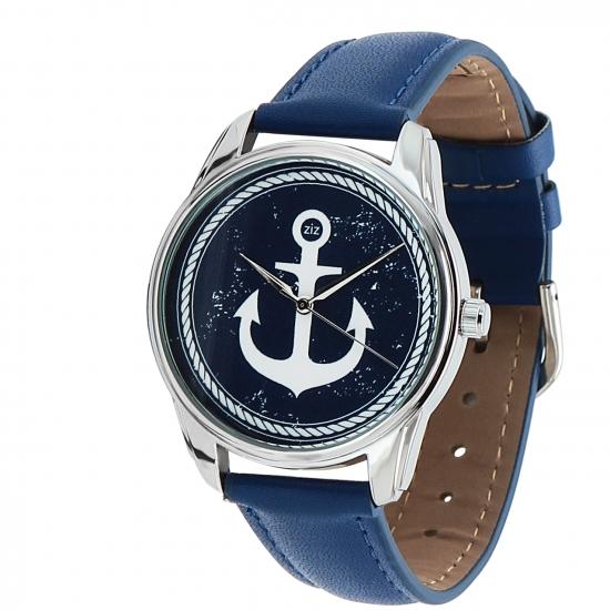Фото - Наручные часы Якорь синий купить в киеве на подарок, цена, отзывы