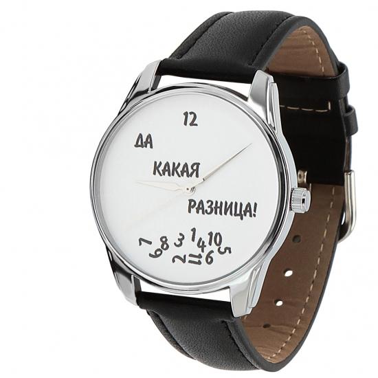 Фото - Наручные часы Да какая разница черный купить в киеве на подарок, цена, отзывы