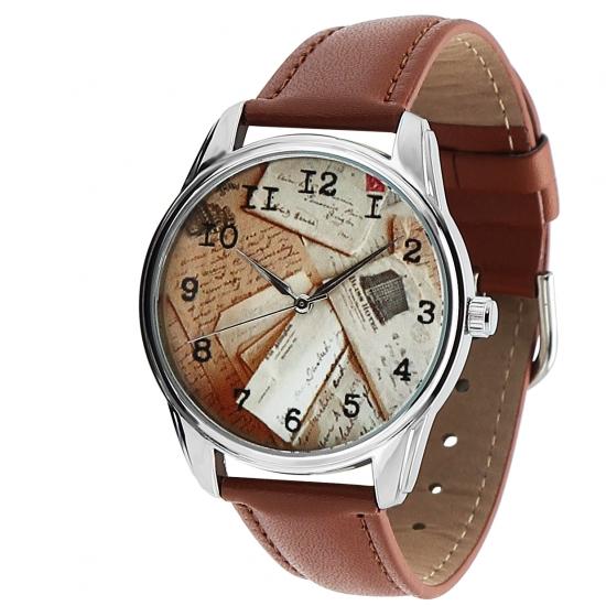 Фото - Наручные часы Конверты коричневый купить в киеве на подарок, цена, отзывы