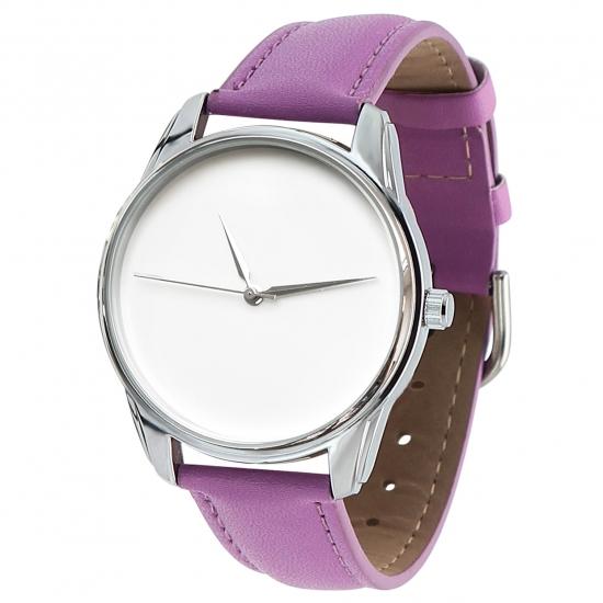 Фото - Часы наручные Минимализм фиолетовый купить в киеве на подарок, цена, отзывы