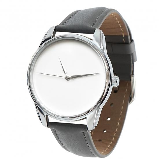 Фото - Часы наручные Минимализм серый купить в киеве на подарок, цена, отзывы