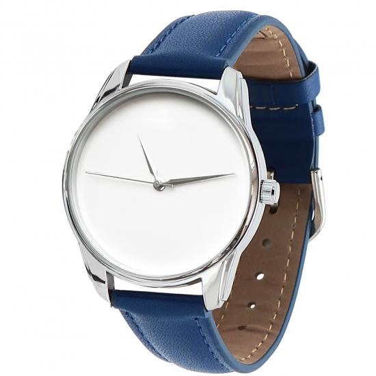 Фото - Часы наручные Минимализм синий купить в киеве на подарок, цена, отзывы