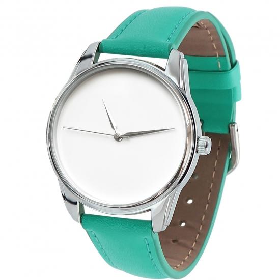 Фото - Часы наручные Минимализм бирюзовый купить в киеве на подарок, цена, отзывы